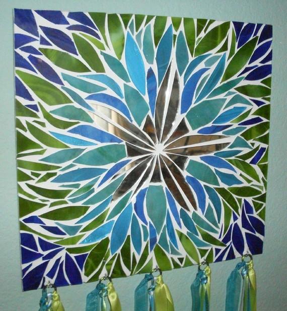 Мозаичные зеркала от Валери Уотсон. 90235