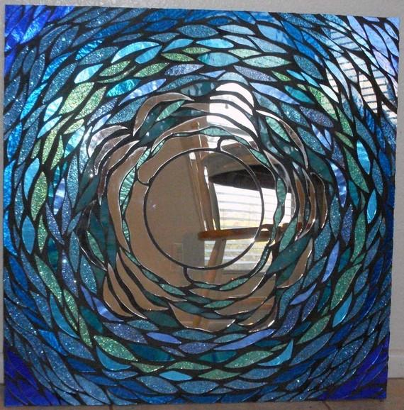 Мозаичные зеркала от Валери Уотсон. 85602