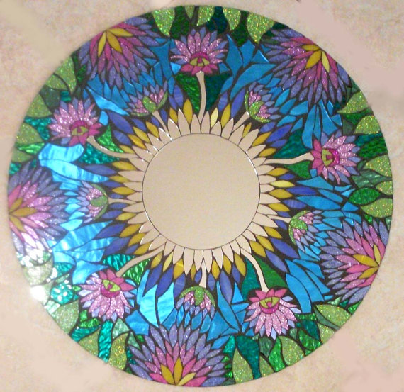 Мозаичные зеркала от Валери Уотсон. 33361