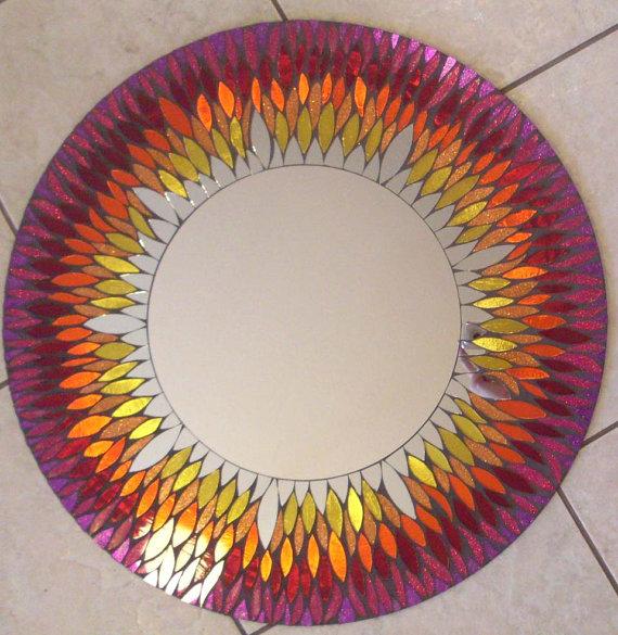 Мозаичные зеркала от Валери Уотсон. 61944