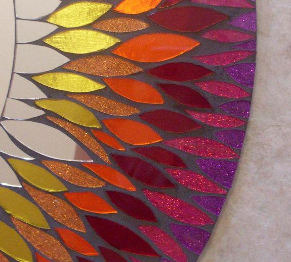 Мозаичные зеркала от Валери Уотсон. 38295