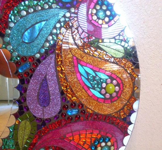 Мозаичные зеркала от Валери Уотсон. 29539