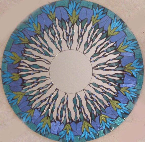 Мозаичные зеркала от Валери Уотсон. 61036