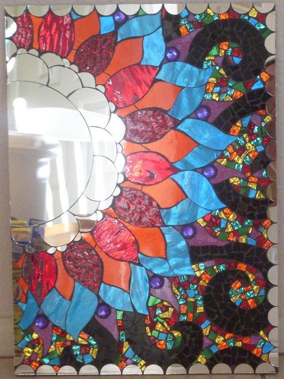 Мозаичные зеркала от Валери Уотсон. 29511