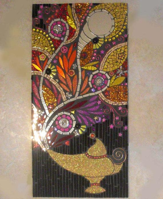 Мозаичные зеркала от Валери Уотсон. 93559
