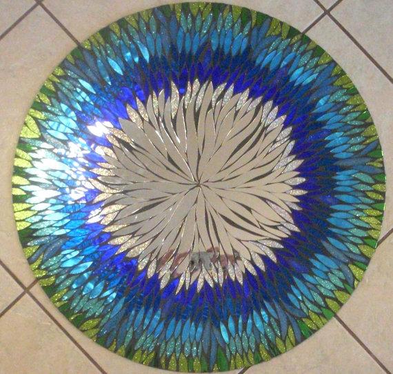 Мозаичные зеркала от Валери Уотсон. 20686