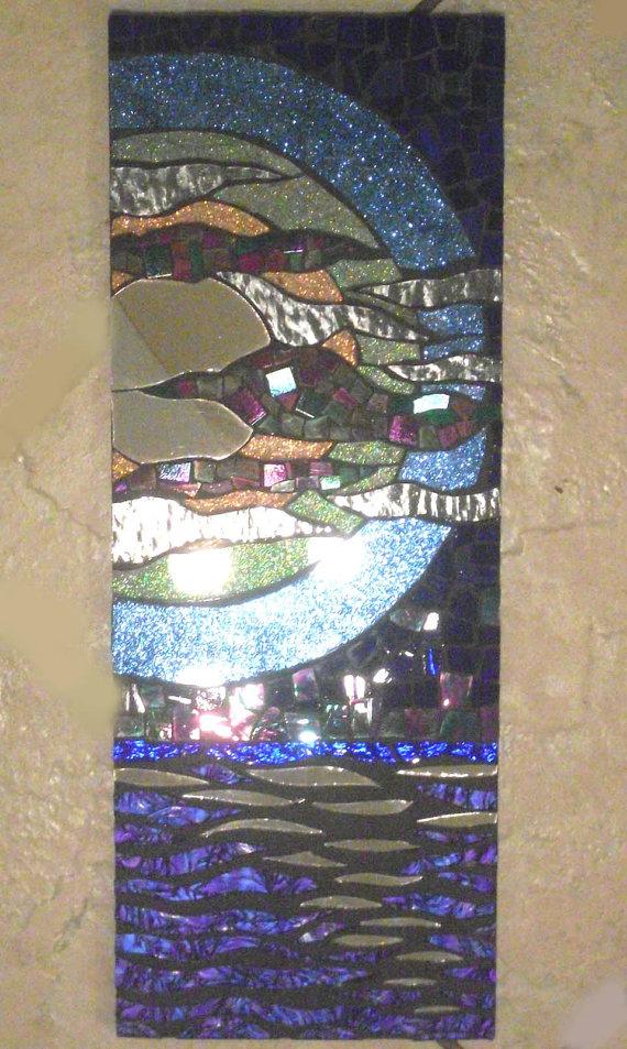 Мозаичные зеркала от Валери Уотсон. 42664