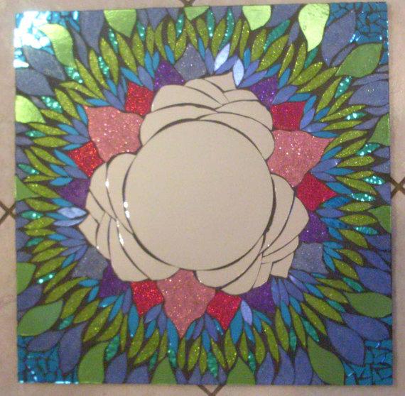 Мозаичные зеркала от Валери Уотсон. 69124